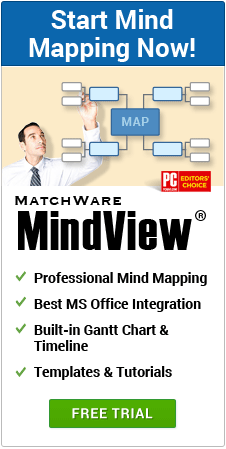 Download Free Trial of MindView Mind Mapping Software
